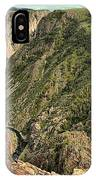 Inside The Black Canyon IPhone Case