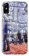Inside The Blue Mosque IPhone Case