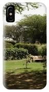 Inside The Garden Of 5 Senses In Delhi IPhone Case