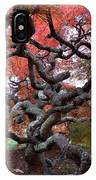Inside The Japanese Maple IPhone Case