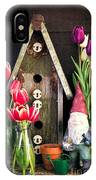 Inside The Potting Shed IPhone Case