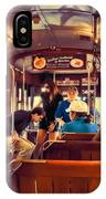 Inside The St. Charles Ave Streetcar New Orleans IPhone Case