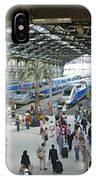 Inside Train Station, Nice, France IPhone Case