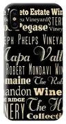 Inspirational Art- Napa Valley Wineries IPhone Case