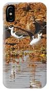 Inter-species Meeting Place IPhone Case