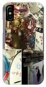 Interior Hatches Collage Russian Submarine IPhone Case