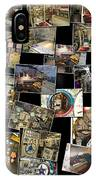 Interior Russian Submarine Horz Collage IPhone Case