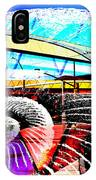 Interstate 10- Cushing St Overpass- Rectangle Remix IPhone Case