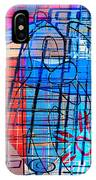 Interstate 10- Exit 255- Miracle Mile Overpass- Rectangle Remix IPhone Case