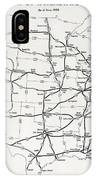 Interstate And Defense Highways  1958 IPhone Case