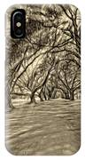Into The Deep South - Paint 2 Sepia IPhone Case