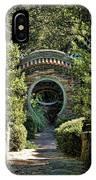 Into The Enchanted Garden IPhone Case