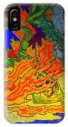 Into The Flames Of Hell IPhone Case