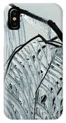 Intricate Ice Curtains IPhone Case