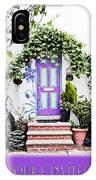 Invitation Greeting Card - Street Garden IPhone Case