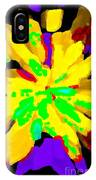 Iphone Cases Colorful Flowers Abstract Roses Gardenias Tiger Lily Florals Carole Spandau Cbs Art 182 IPhone Case