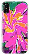 Iphone Cases Colorful Flowers Abstract Roses Gardenias Tiger Lily Florals Carole Spandau Cbs Art 183 IPhone Case
