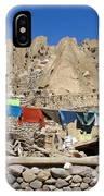 Iran Kandovan Stone Village Laundry IPhone Case