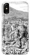Ireland Peasants, 1886 IPhone Case