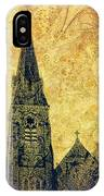 Ireland St. Brendan's Cathedral Spire IPhone Case