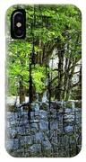Ireland Stone Wall And Trees IPhone Case