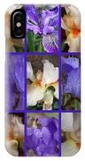 Iris Collage IPhone Case