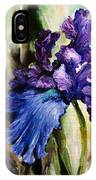 Iris In Bloom 2 IPhone X Case