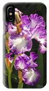 Iris In June IPhone Case