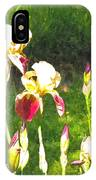 Iris In Watercolor IPhone Case