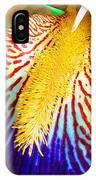 Iris Petal By Jan Marvin IPhone Case
