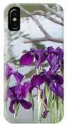 Iris Purple Lavender IPhone Case