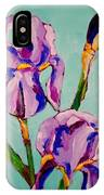 Iris Study IPhone Case