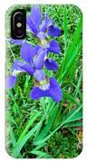Iris Swirl IPhone Case