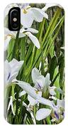 Irises Dancing In The Sun Painted IPhone Case