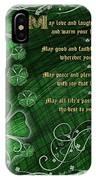 Irish Blessing IPhone Case