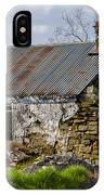 Irish Cottage Ruins IPhone Case