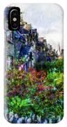 Irish Garden Water Color IPhone Case