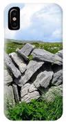 Irish Stone Wall IPhone Case