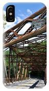 Iron Bridge IPhone Case