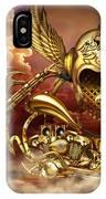 Iron Dragon IPhone Case