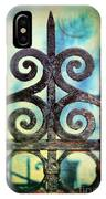 Iron Gate Detail IPhone Case