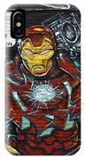 Iron Man Graffiti IPhone Case