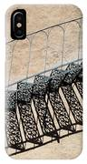 Iron Stairs Shadow IPhone Case