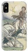 Irving: Sleepy Hollow, 1849 IPhone Case
