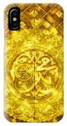 Islamic Calligraphy 013 IPhone Case