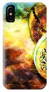 Islamic Calligraphy 021 IPhone Case