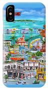 Island Daze IPhone Case