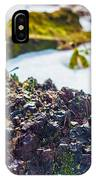 Island In The Snow IPhone Case