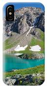 Island Lake And U.s. Grant Peak IPhone Case