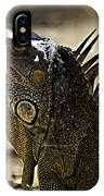 Island Lizards Three IPhone Case